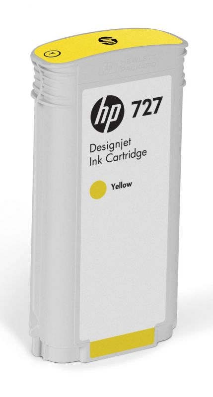 HP 727 130-ml Yellow Designjet Ink Cartridge