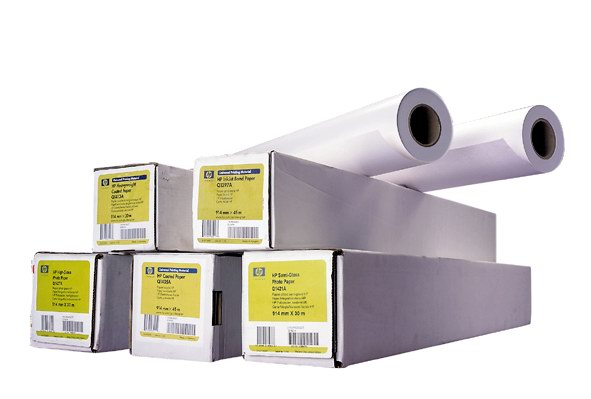 HP Coated Paper, A0 , 95gr , 91.4 cm x 45.7 m