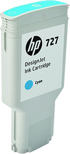 HP 727 300-ml Cyan Ink Cart