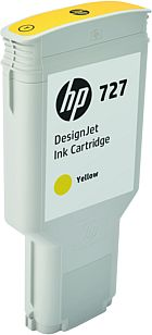 HP 727 300-ml Yellow Ink Cart