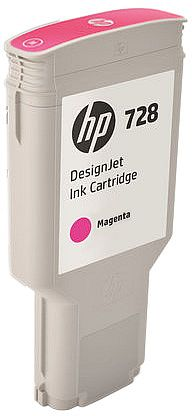 HP 728 300-ml Magenta DesignJet Ink Cartridge