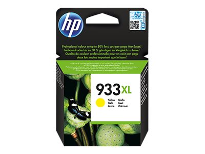 HP 933XL ink. náplň - yellow