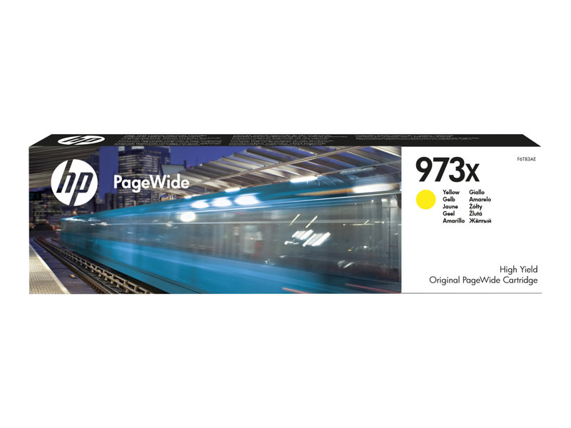 HP 973X ink. náplň yellow