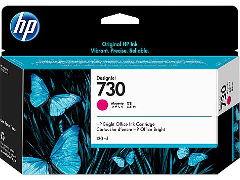 HP 730 130-ml Magenta Ink Cartridge