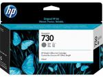 HP 730 130-ml Gray Ink Cartridge